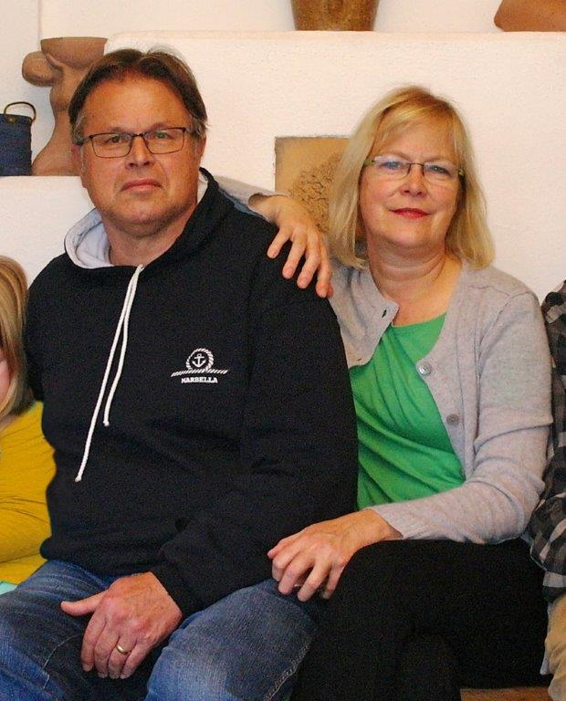 Jürg Mette mit seiner Frau Heike.
