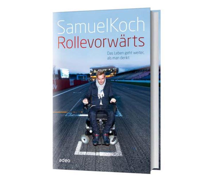 Neues Buch von Samuel Koch: Rollevorwärts