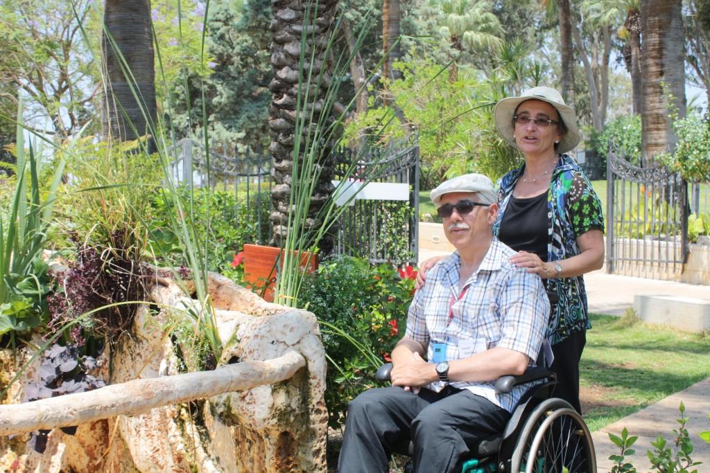 Daniel Stettler im Rollstuhl