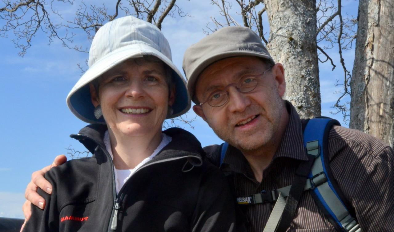 Beatrice und Christian Kohli am 35. Jahrestag iher Hochzeit.