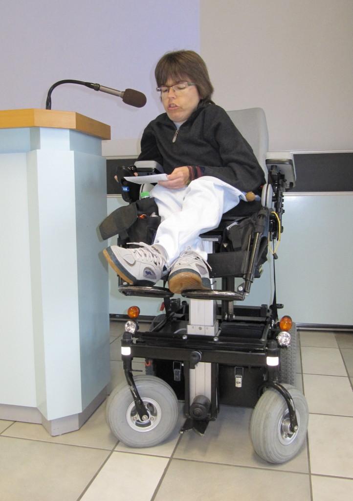 Simone Leuenberger engagiert sich aktiv im Vorstand von Glaube und Behinderung.