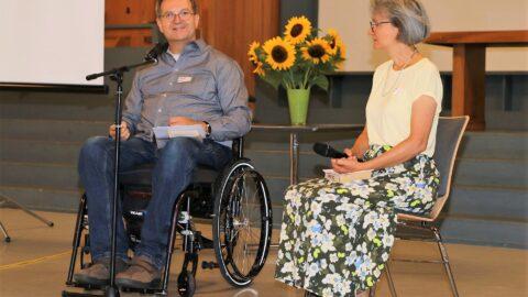 Astrid und Andreas Hahn bei ihrem Input