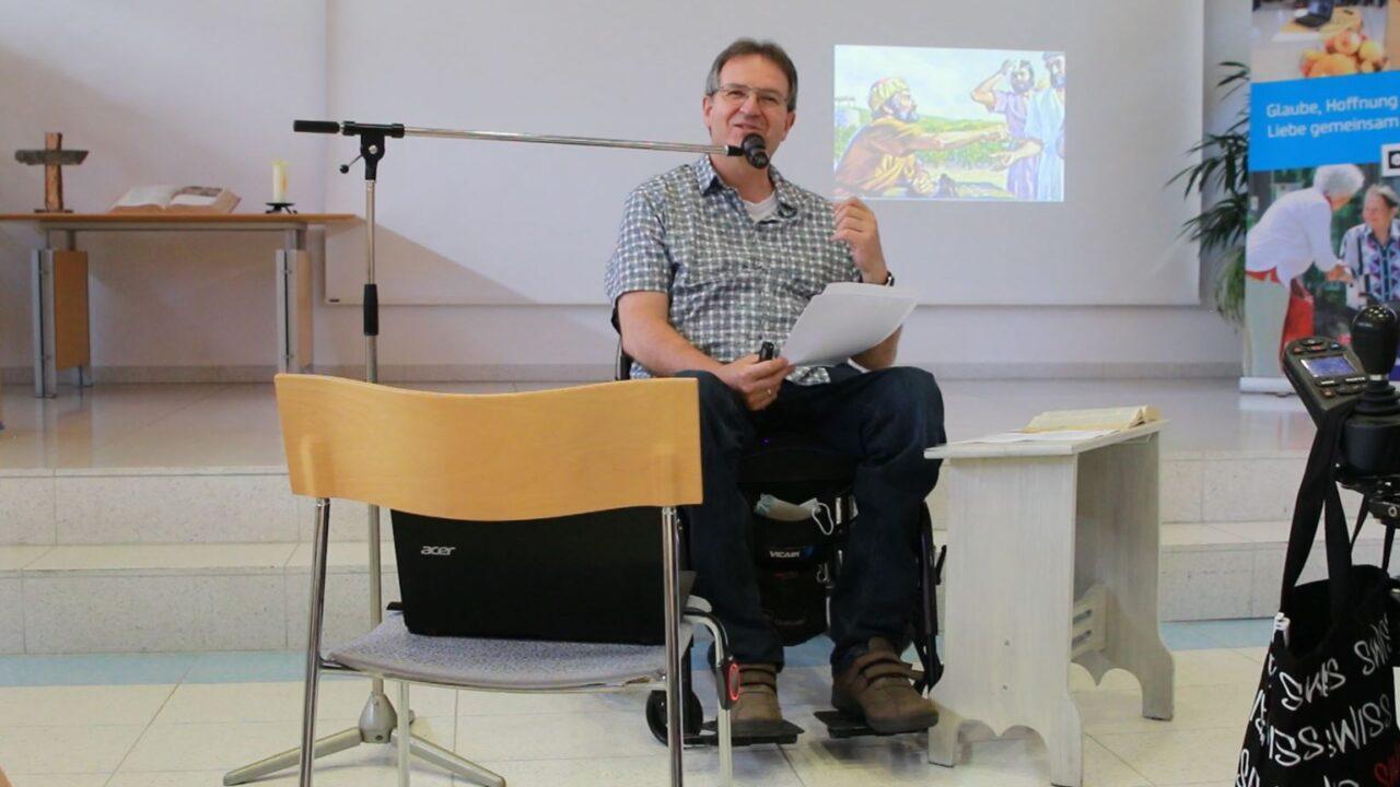 Andreas Hahn spricht über die unverdiente Gnade